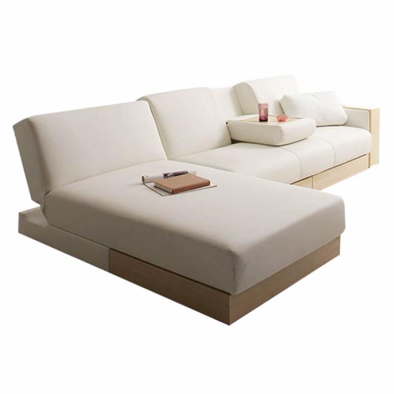 sarai l shape customised sectional storage sofa