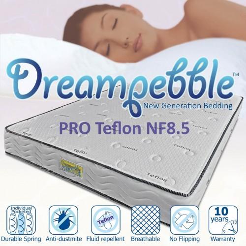 Dreampebble Pro Teflon Plush NF8.5 Mattress