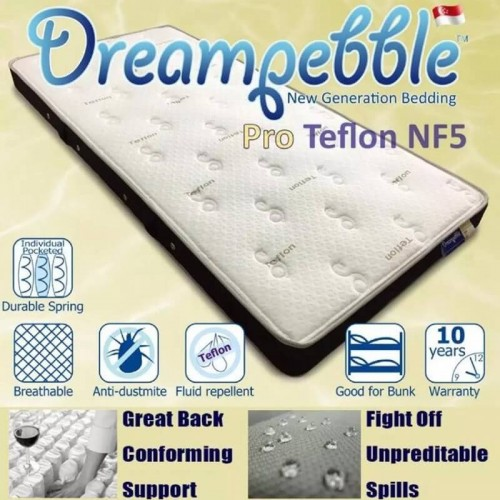 Dreampebble Pro Teflon NF5 Mattress