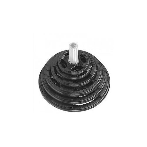 Jiez Tri-Grip Rubberised Plates with Internal Metal Ring