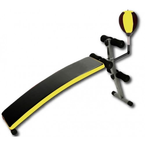 Sit Up Bench with Punching Ball