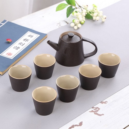 Japanese Ceramic Teapot 7Pcs Set
