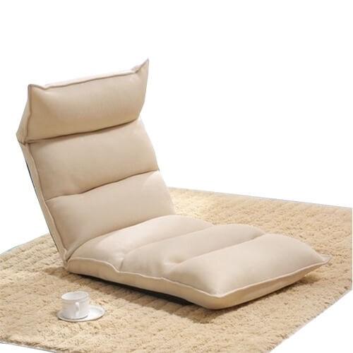 Silkworm Design 5-Fold Washable Floor Chair Sofa (Mesh)