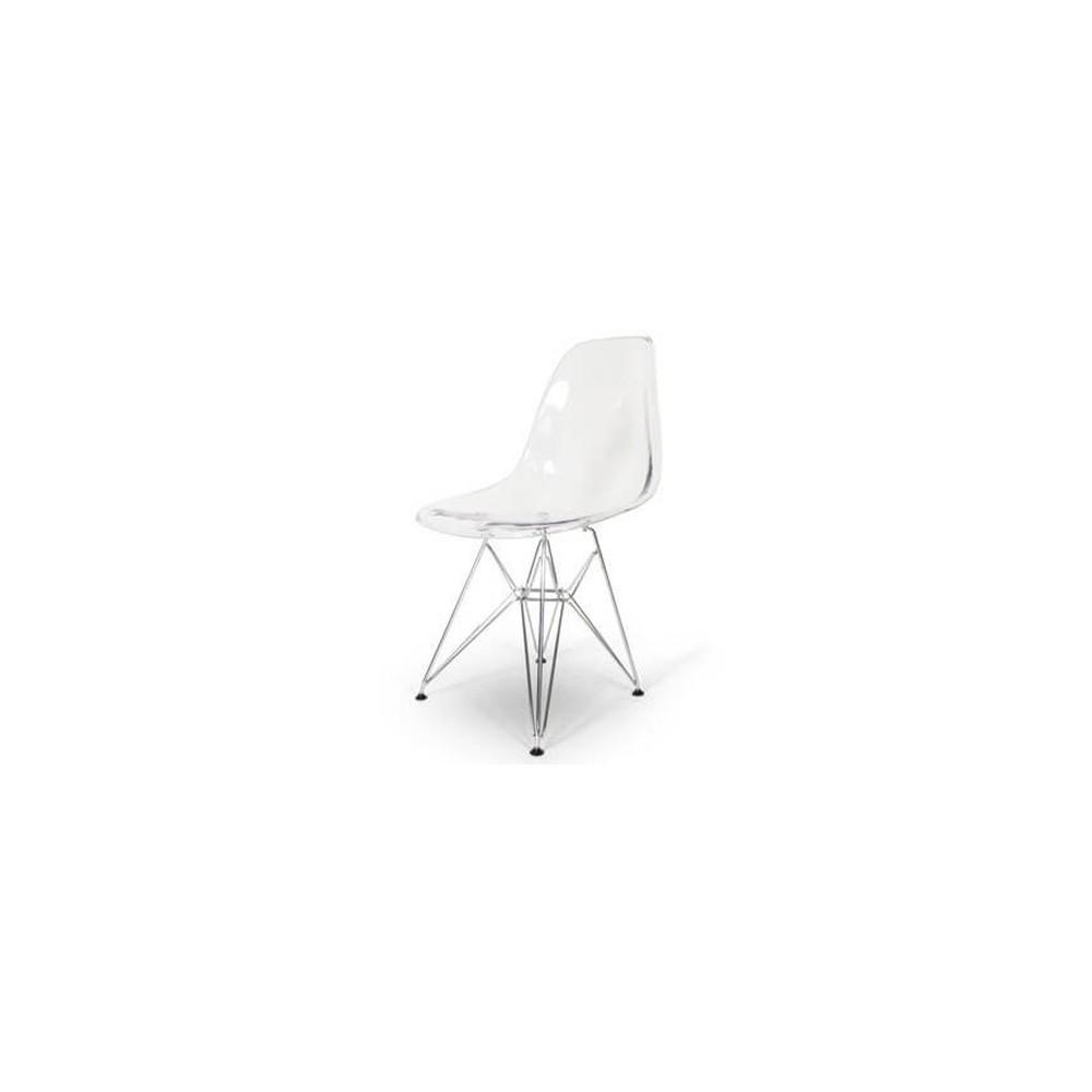 EAMES Luminous Replica Steel Eiffel Chair