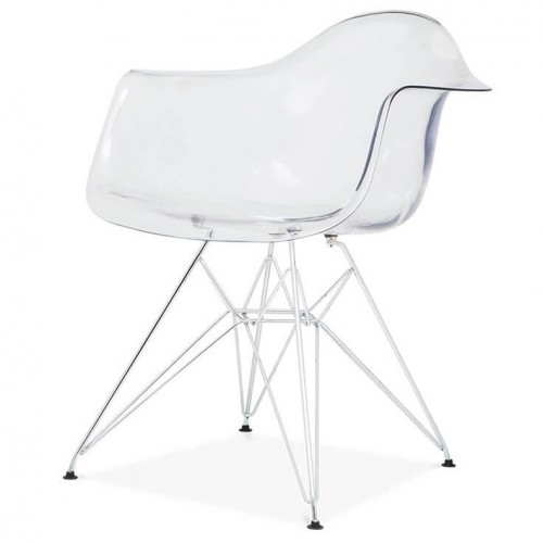 EAMES Luminous Replica Steel Eiffel Armchair
