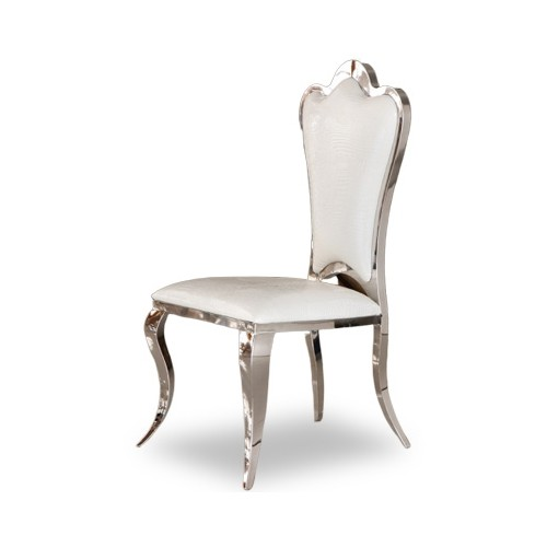 Campache II. Grand Dining Chair (White)
