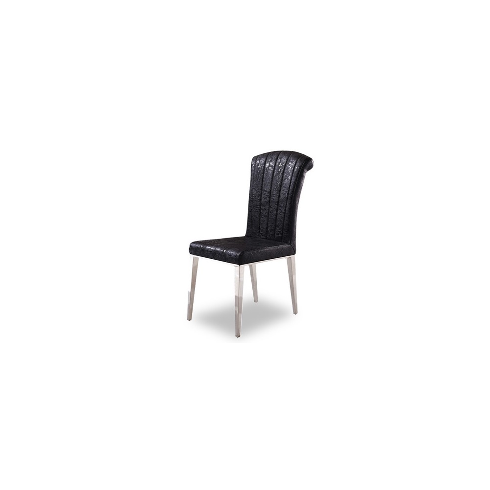 Cantilever Grand Dining Chair (Black)