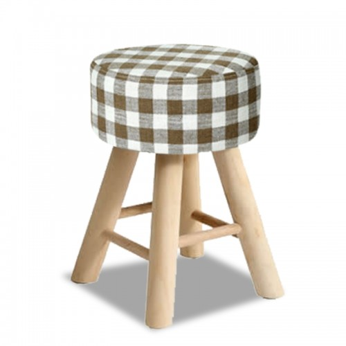 CLASSIC Stool (Small Checkered )