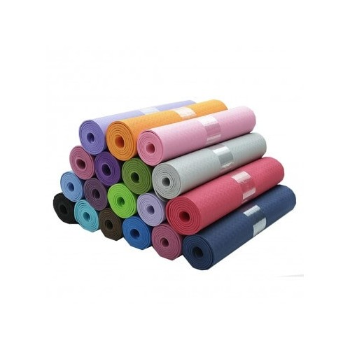 Premium TPE Yoga Mat (Solid Color)