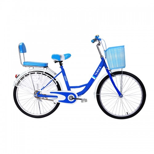 24 inch Traditional Bicycle (Blue)