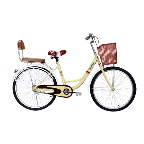Traditional Bicycle in Beige (24inch)