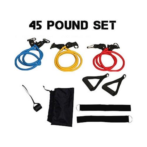 45 Pounds Resistance Tube Set