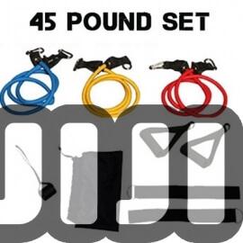 100 Pounds Resistance Tube Set