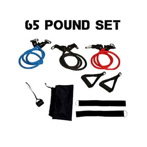 65 Pounds Resistance Tube Set