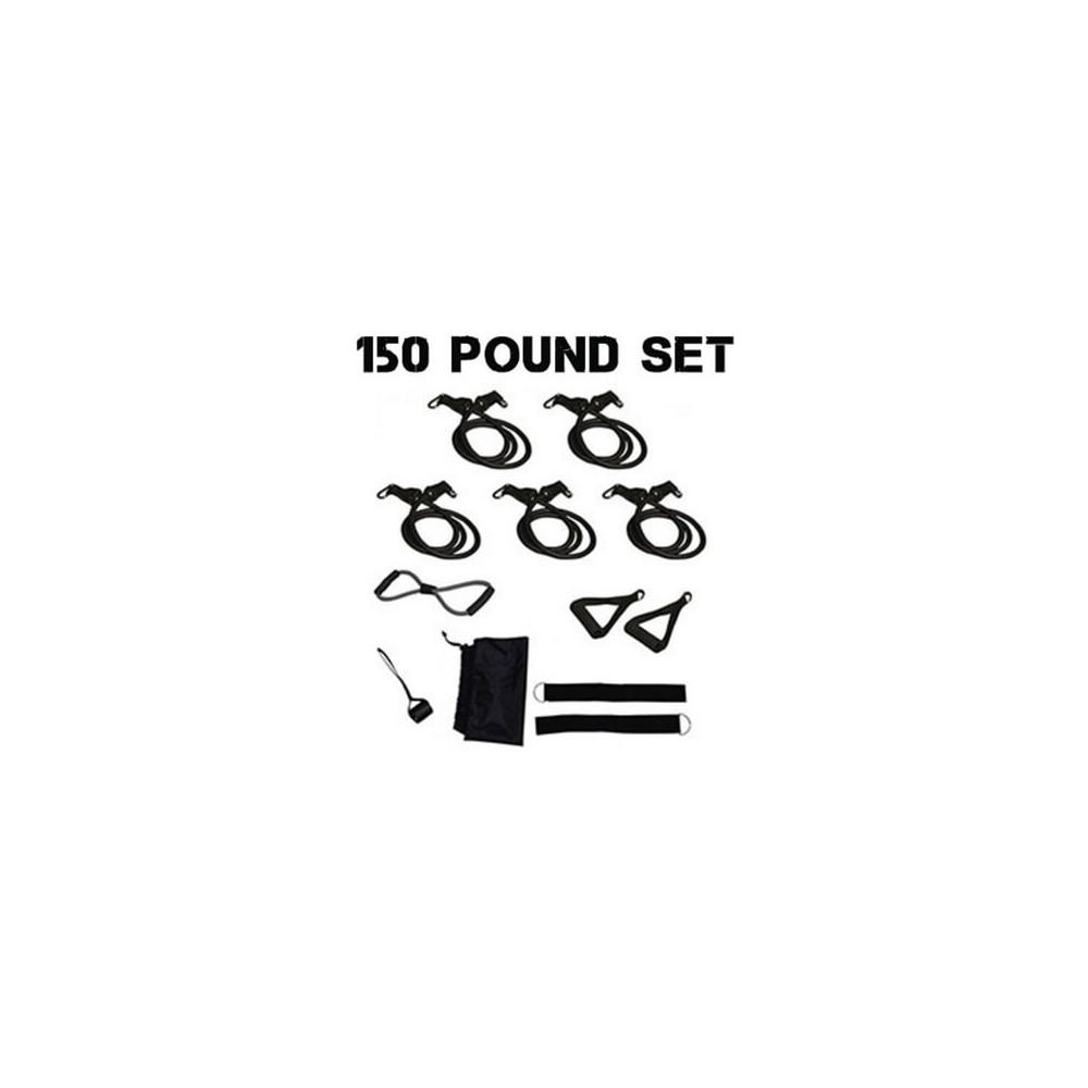 150 Pounds Resistance Tube Set