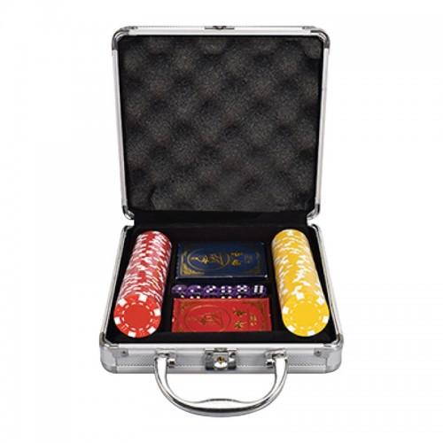 100pcs Premium Poker Chips