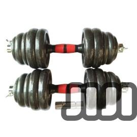 35KG Cast Iron Dumbbells Set