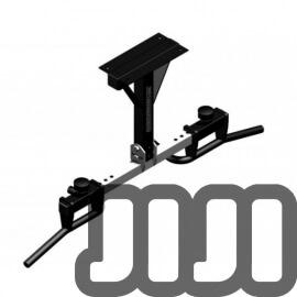 Premium Vertical Wall Mounted Chin Up Bar -007