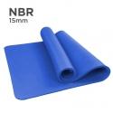 NBR 15mm Yoga Mat (Blue)