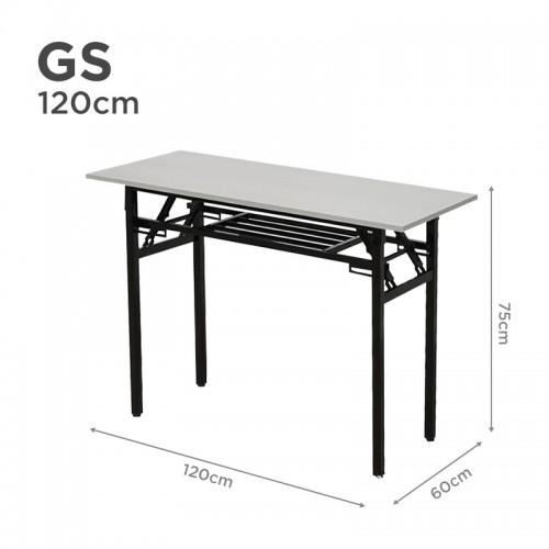 GS Folding Table in 120cm (Light Grey)