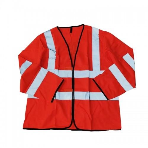 Safety Vest with Long Sleeve (Orange)