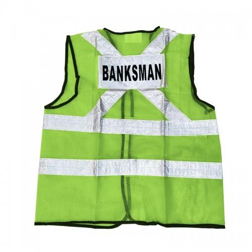 Safety Vest (Banks Man) (Green)