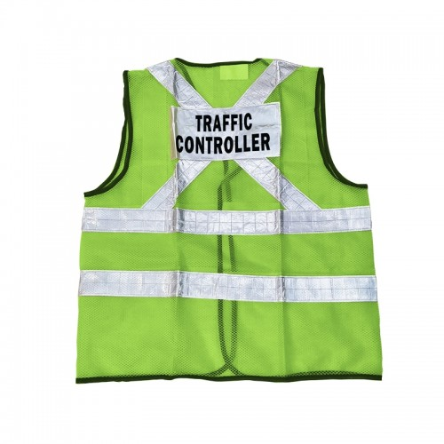 Safety Vest (Traffic Controller) (Green)