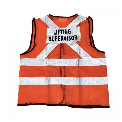 Safety Vest (Lifting Supervisor) (Orange)