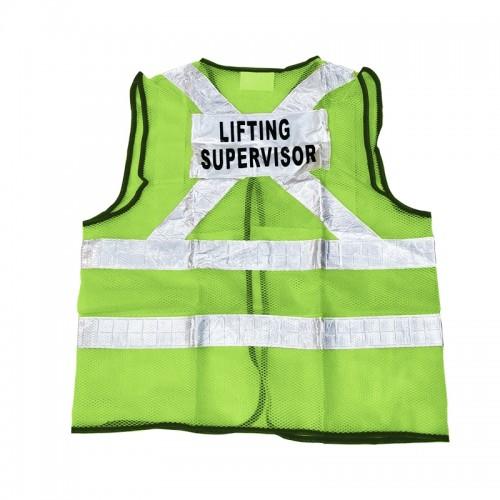 Safety Vest (Lifting Supervisor) (Green)