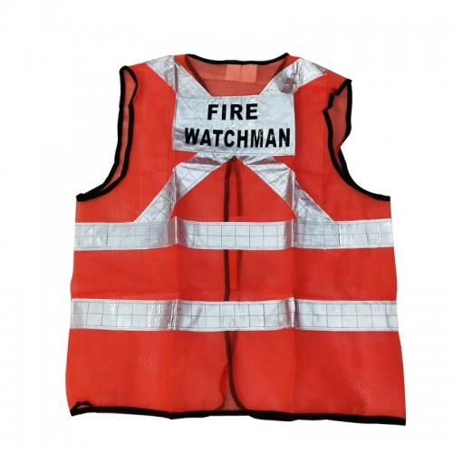 Safety Vest (Fire Watchman) (Orange)