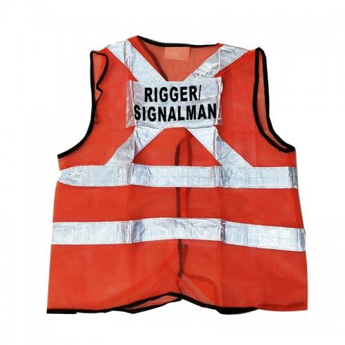 Safety Vest (Rigger/Signal Man) (Orange)