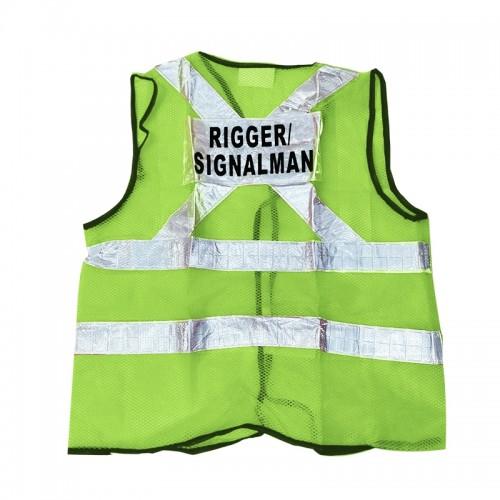 Safety Vest (Rigger/Signal Man) (Green)
