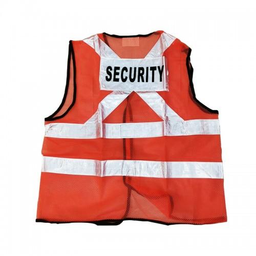 Safety Vest (Security) (Orange)
