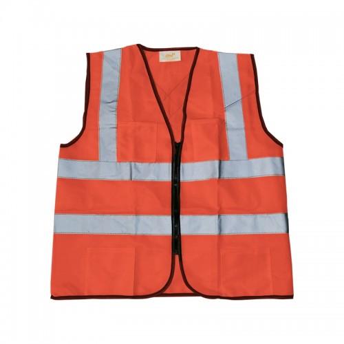 Heavy Duty Safety Vest (Orange)