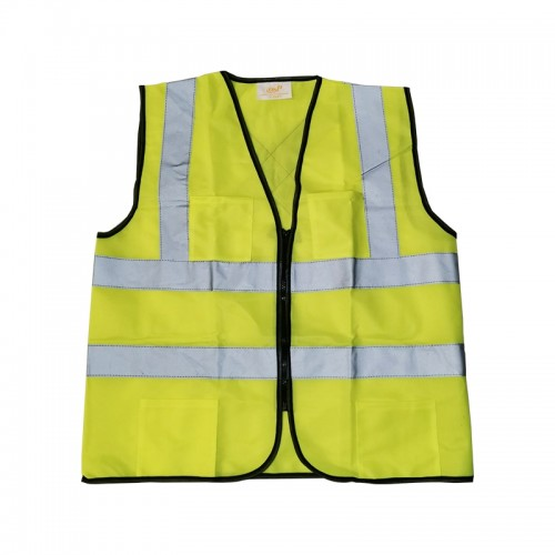 Heavy Duty Safety Vest with pocket (Green)
