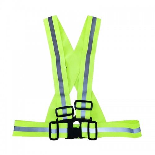 Belt Type Vest with Buckle (Green)