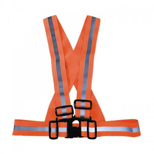 Belt Type Vest with Buckle (Orange)