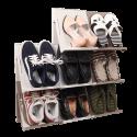 SLIDING Stackable Shoe Rack