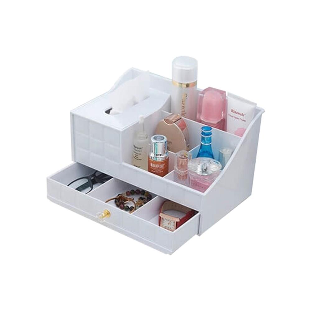ABS Series Desk Organizer (MKT-12) (White)