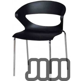 Bisou Curvy Stacking Chair