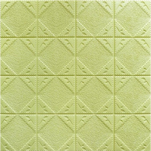 Square Bakuta 3D Wallpaper (Green)