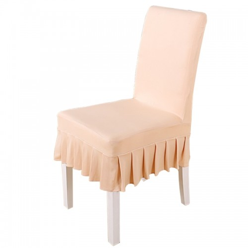 Universal Dining Chair Cover (Champagne Gold)