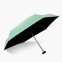 Super Mini Manual 5-Fold Umbrella (Green)