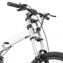 ZEPHYR Foldable Bicycle in 26 Inch (White)