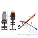 Folding Universal Five-Position Weight Bench