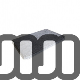 Silky Floor Mat 【Clear】