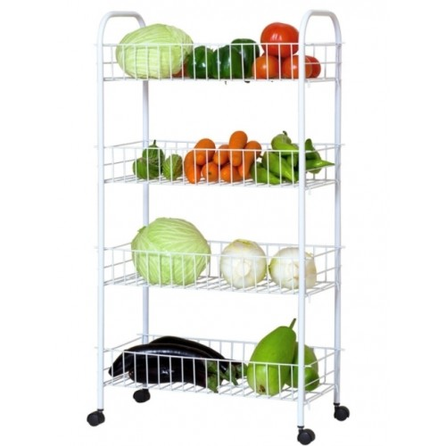Basic Kitchen Trolley - 4 Tier