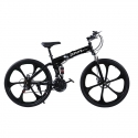 ZEPHYR Foldable Bicycle in 26 Inch (Black)