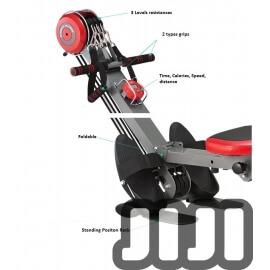 Deluxe Indoor Muti-Purpose Rowing Resistance Machine