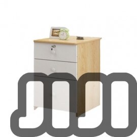 Kendall Bedside Table 【Triple Drawer】